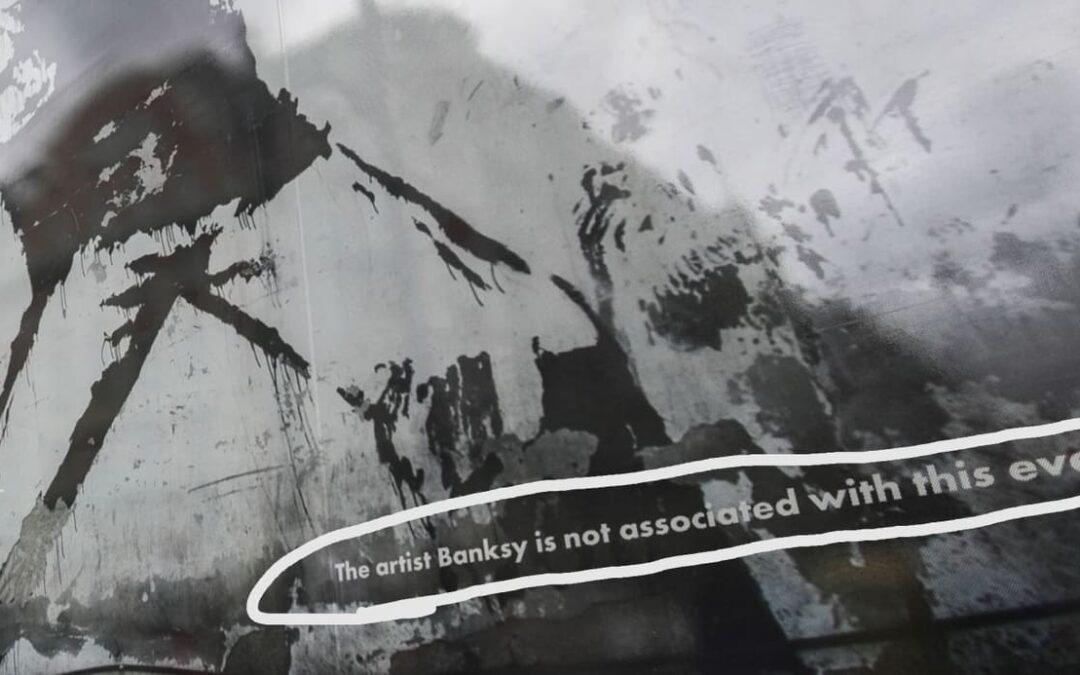 Kousek Banksyho v Praze