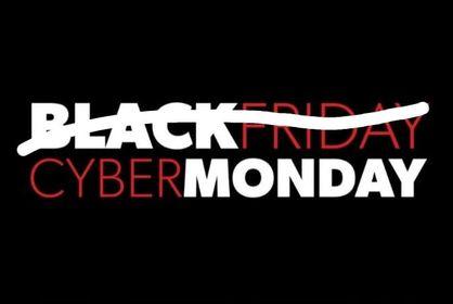 Black Friday je mrtvý, ať žije Cyber Monday