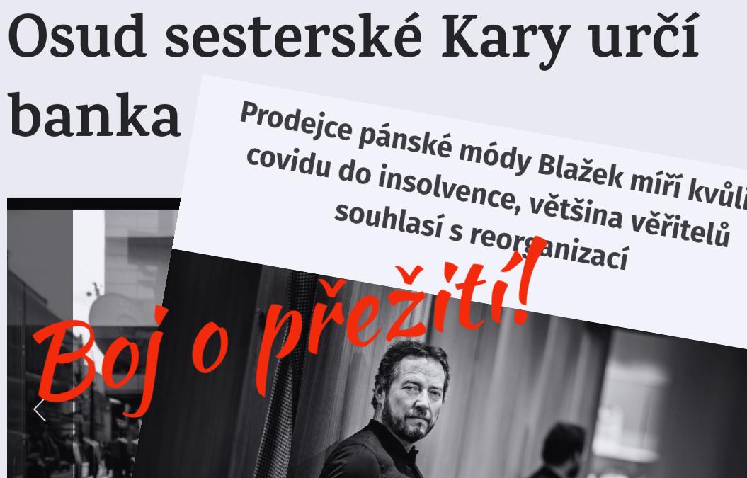 Covid zabíjí českou módu